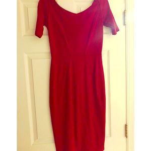 Timeless Scarlet Red Dress!